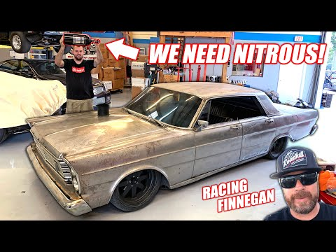 Our Cummins Powered Galaxie Gets a GHETTO Nitrous System... Will It Work? (Racing Roadkill Truck)