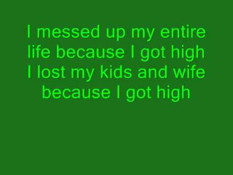 Afroman Because I got high lyrics
