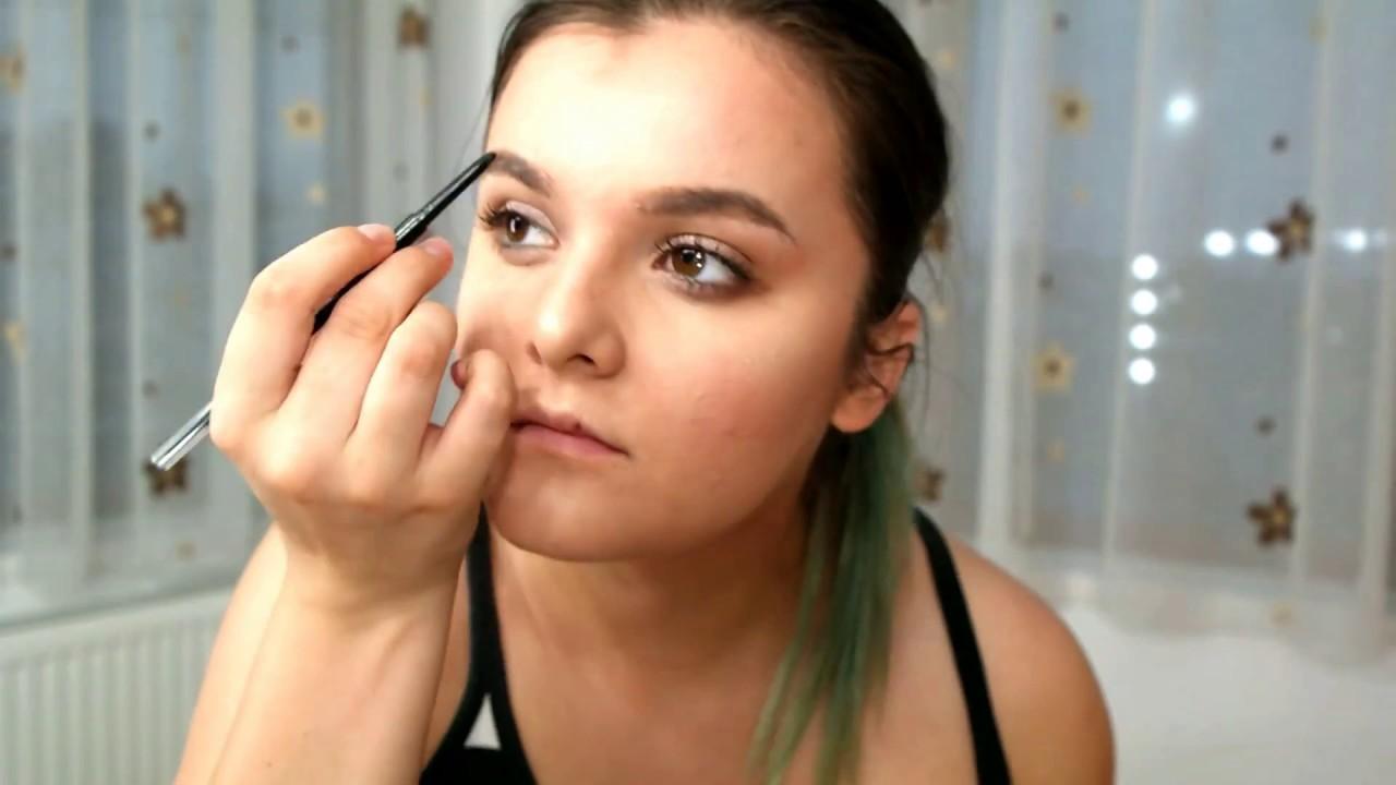 Primul meu video- Tutorial machiaj de zi ! #makeuptutorial