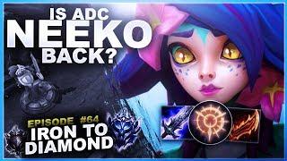 IS NEEKO ADC BACK? - Iron to Diamond - Ep. 64 | League of Legends thumbnail