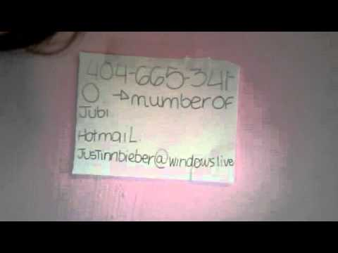 how to put phone number in an emal