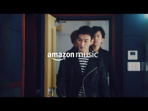 草なぎ剛 AmazonMusic CM スチル画像。CM動画を再生できます。