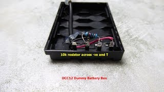 Adding Battery Level Indication to Panasonic Dummy Battery Boxes DCC8 and DCC12