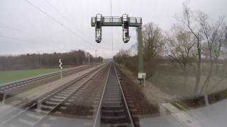 Führerstandsmitfahrt Lüneburg - Hamburg Hbf