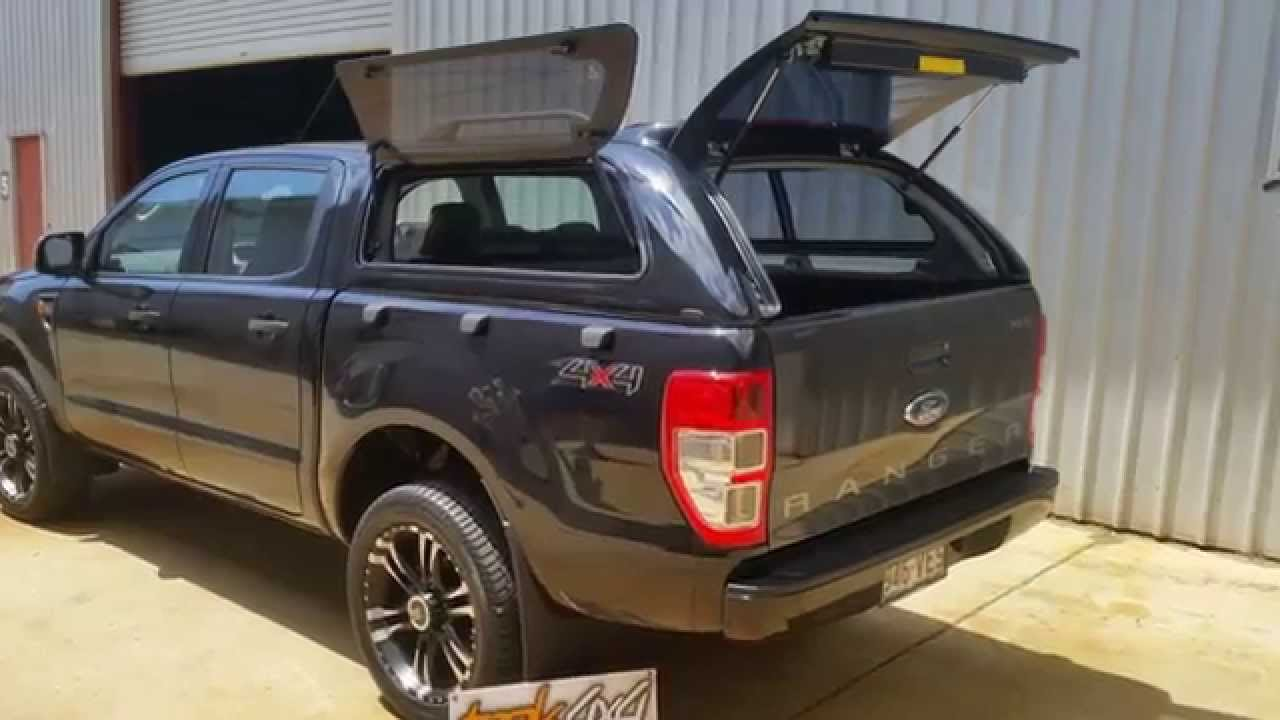 FORD Ranger PX - Trek 4x4 - Ute Canopies - Ute Drawer Systems - Utility Tray Slide - YouTube & FORD Ranger PX - Trek 4x4 - Ute Canopies - Ute Drawer Systems ...