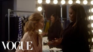 Pat McGrath Does Natalia Vodianova's Makeup with Her Eyes Closed - Vogue