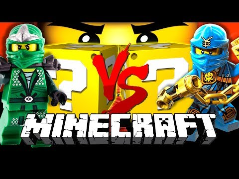 Minecraft: LEGO NINJAGO LUCKY BLOCK CHALLENGE | DENMARK MADE LEGOS?!