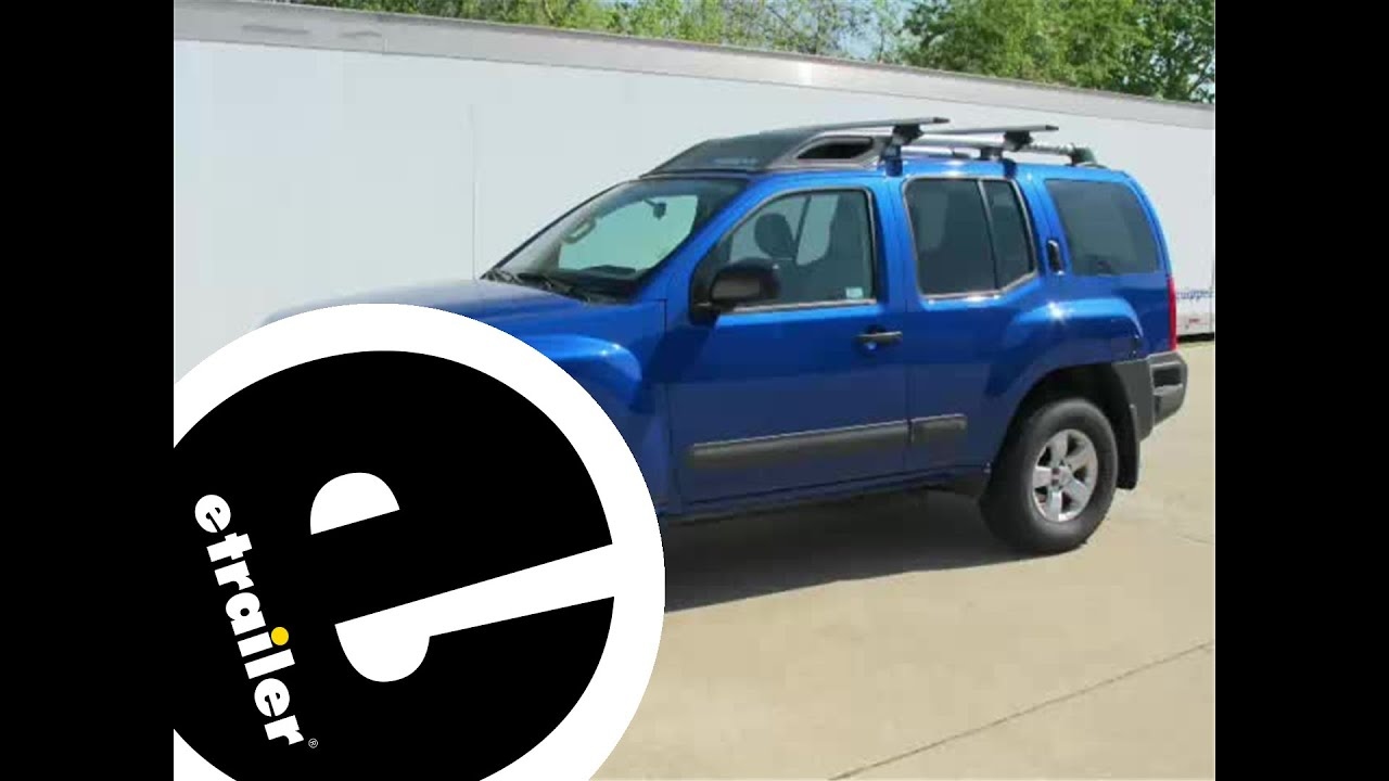 installation of a trailer hitch on a 2013 nissan xterra