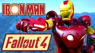 Fallout 4 IRON MAN Mod - Marvel Superhero Showcase - PC X1 Mod