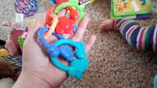 Favorite Baby Toys Review (at 6 months)