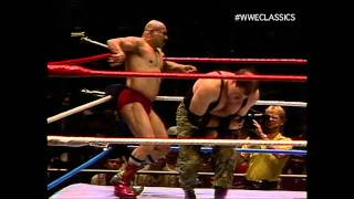 The Iron Sheik vs Sgt. Slaughter 4/23/84