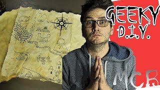 Treasure Map Tutorial : Geeky DIY