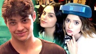 Noah Centineo dresses Laura Marano?! | Vintage Shop Challenge with the cast of The Perfect Date!