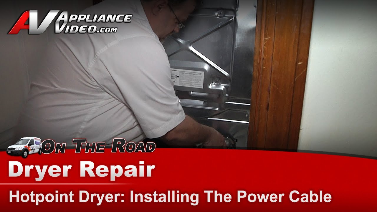 Hotpoint Dryer Repair No Power Cord Htdx100ed2ww Youtube Wiring 4 Wires To A 3 Wire Plug Maytag Electrician Talk
