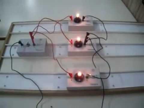 Circuito en paralelo con tres l youtube - Interruptores para lamparas ...