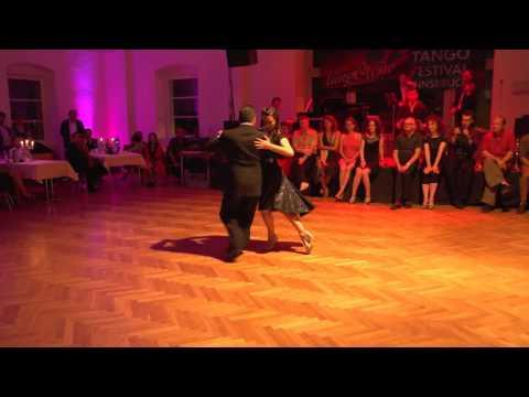Fernando Galera & Silvina Valz 4 with Solo Tango Orquesta Tangofestival Innsbruck Oct 2015