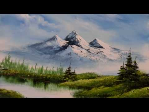 Painting Stage油畫教學-How to Paint the Snow Mountains