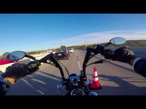 Street Bob Ride in Oceanside
