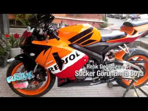 CUSTOM COLOR  Motosiklet Boyama İşlemleri