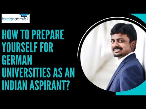 Webinar on How to prepare yourself for the German Universities || Vijay Pravin Maharajan