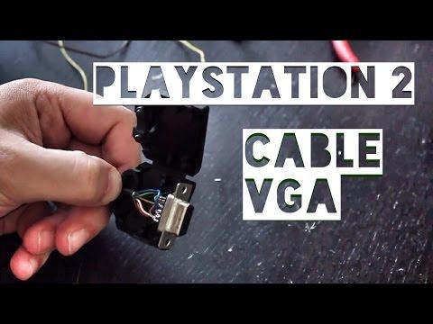 Brancher une Playstation 2 en VGA sur écran PC (version câble)