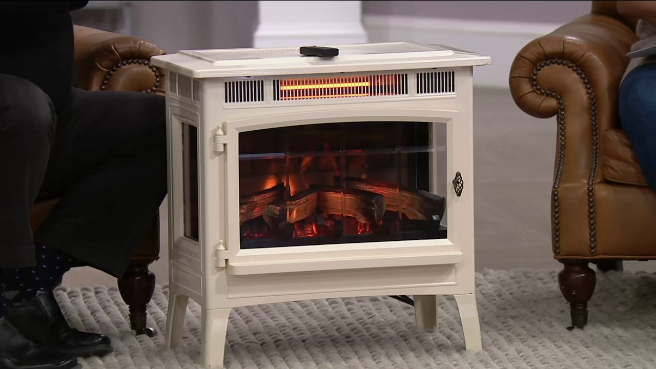 Duraflame Infrared Quartz Stove Heater with 3D Flame