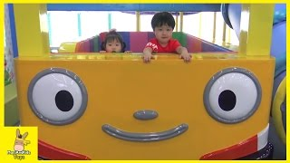 Tayo Bus Car Kid Indoor Playground Family Fun Play Area for kids | MariAndKids Toys