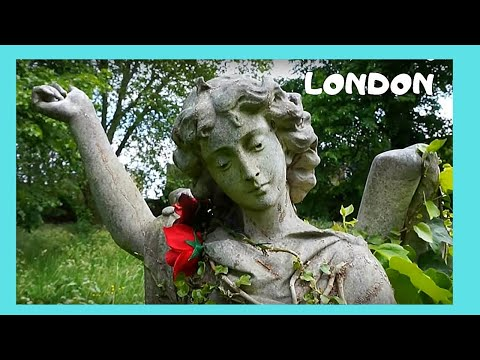 LONDON, a tour of historic BROMPTON CEMETERY in Chelsea