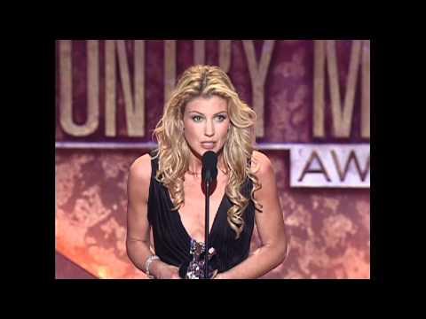 Faith Hill Wins Top Female Vocalist - ACM Awards 2000