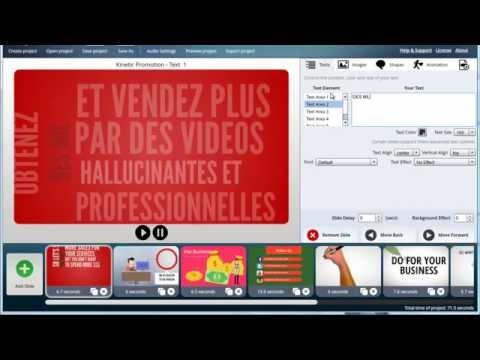 LOGICIEL VIDEO: Creez Votre Video Professionnelle Sans Agence De Communication