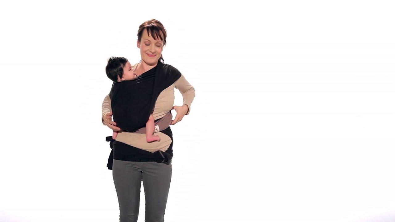 stretchy wrap hip carry
