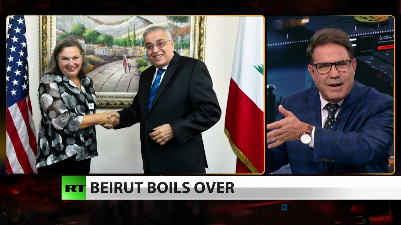 Download Beirut near collapse as Nuland visits — coincidence? (Full Show)