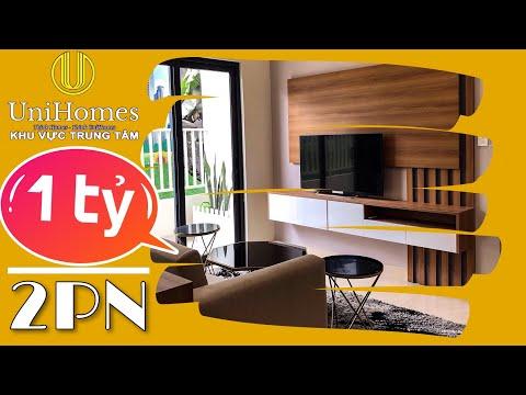 Khám phá căn hộ giá 1 tỷ căn 2PN có gì đặc biệt? - Dự án Tecco Home   UniHomes Center