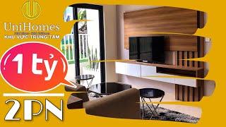 Khám phá căn hộ giá 1 tỷ căn 2PN có gì đặc biệt? - Dự án Tecco Home | UniHomes Center