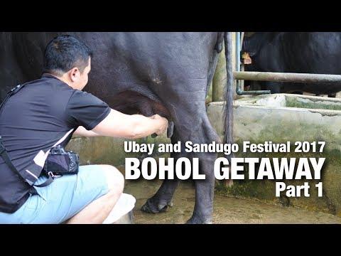 BOHOL GETAWAY! (Ubay and Sandugo Festival 2017) Part 1