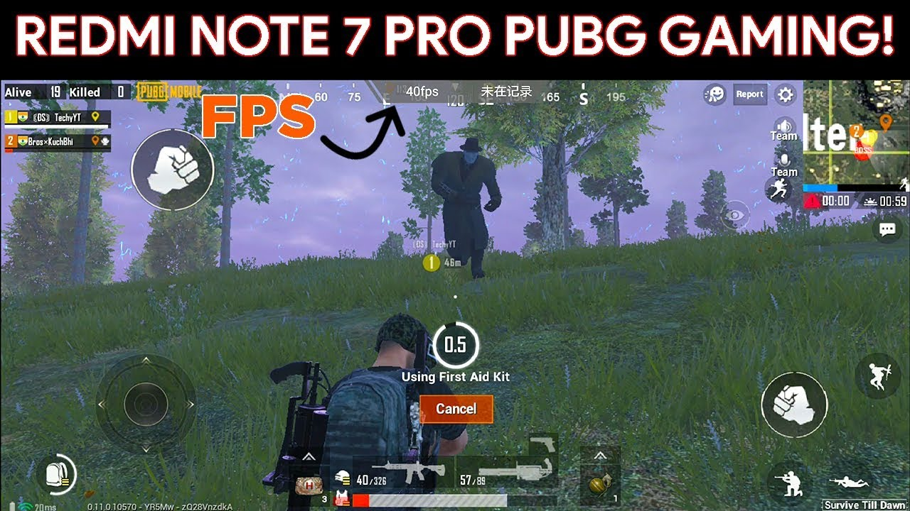 Config Pubg Hd: (TEMPS ADDED)Redmi Note 7 Pro PUBG Gameplay Test With HD