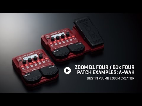 Dustin Plumb - B1 FOUR Patch Example - A-Wah