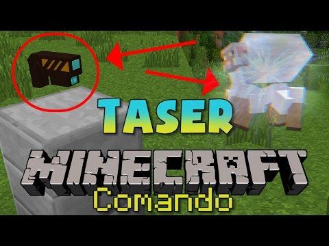 Minecraft: COMO ELETROCUTAR MOBS! | Taser no Minecraft!