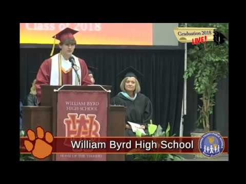 William Byrd High School Graduation 2018