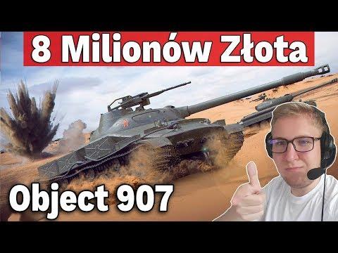 JAK ZDOBYĆ OBJECT 907? - 8 Milionów Złota - World of Tanks thumbnail