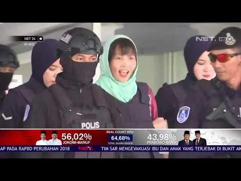 Terduga Pembunuh Kim Jong Nam Dibebaskan NET24
