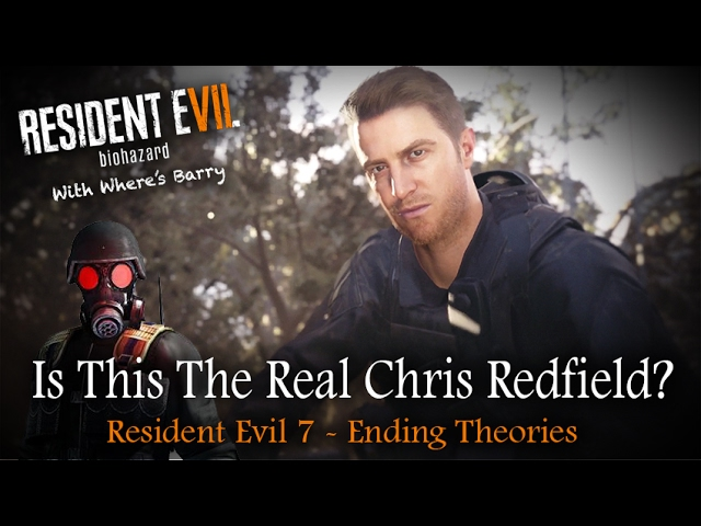 Resident Evil 7 Chris Redfield Hunk Clone Relative Who Is