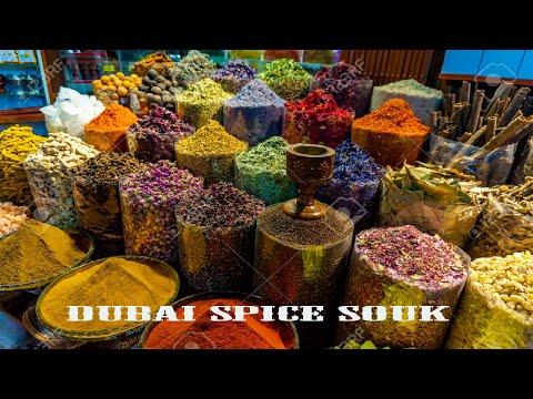 Dubai Spice Market| Grand Souk Deira  | Spice Souq |  Spice market Dubai UAE | Herb Market Dubai