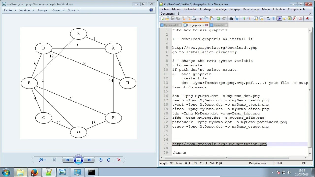 Graphviz Tutorial Windows Example