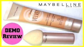 Maybelline Dream Velvet Foundation & Dream Blender | New Drugstore Makeup 2016
