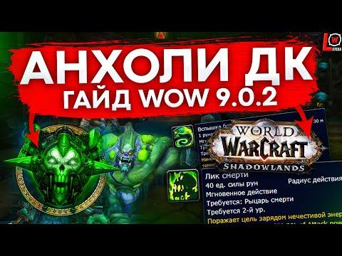 ГАЙД АДК WOW SHADOWLANDS 9.0.2 (РЫЦАРЬ СМЕРТИ НЕЧЕСТИВОСТЬ) world of warcraft