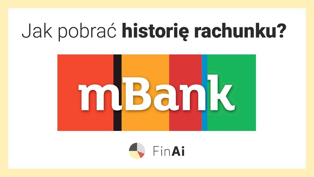 Jak Pobrac Historie Rachunku W Mbanku Zobacz Z Finai Pl Youtube