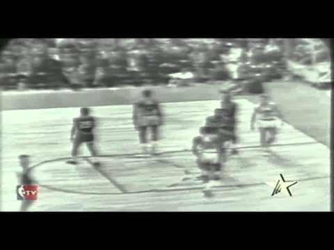 1964 NBA Finals Gm. 4 Celtics vs. Warriors (1/3)