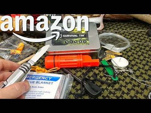 Worst $10 Survival Kit On AMAZON! Garbage Item Of The Week!