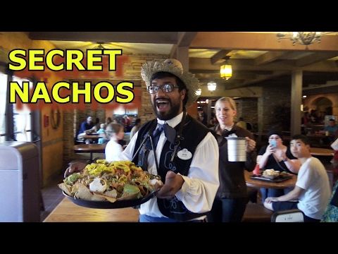 AMAZING - Secret Nachos Experience at Pecos Bill - Disney
